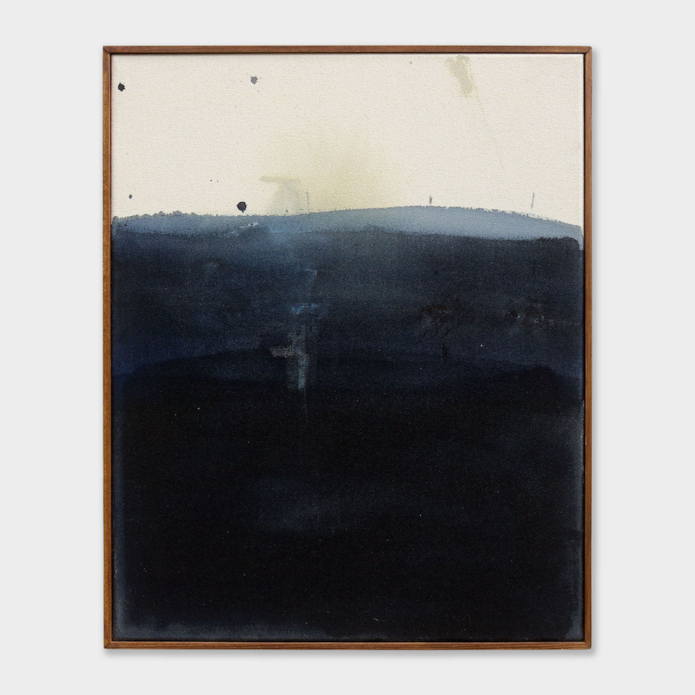 Over the Valley | David Hardy | Mixed Media on Raw Canvas | Partnership Editions