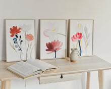 Load image into Gallery viewer, FRAMED Flowered Print