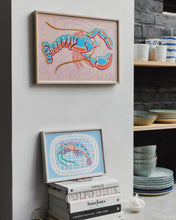 Load image into Gallery viewer, Tiger Prawn Study Print
