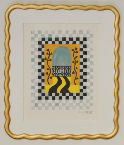 Checkerboard Window iv | Ruby Kean | Original Artwork | Partnership Editions