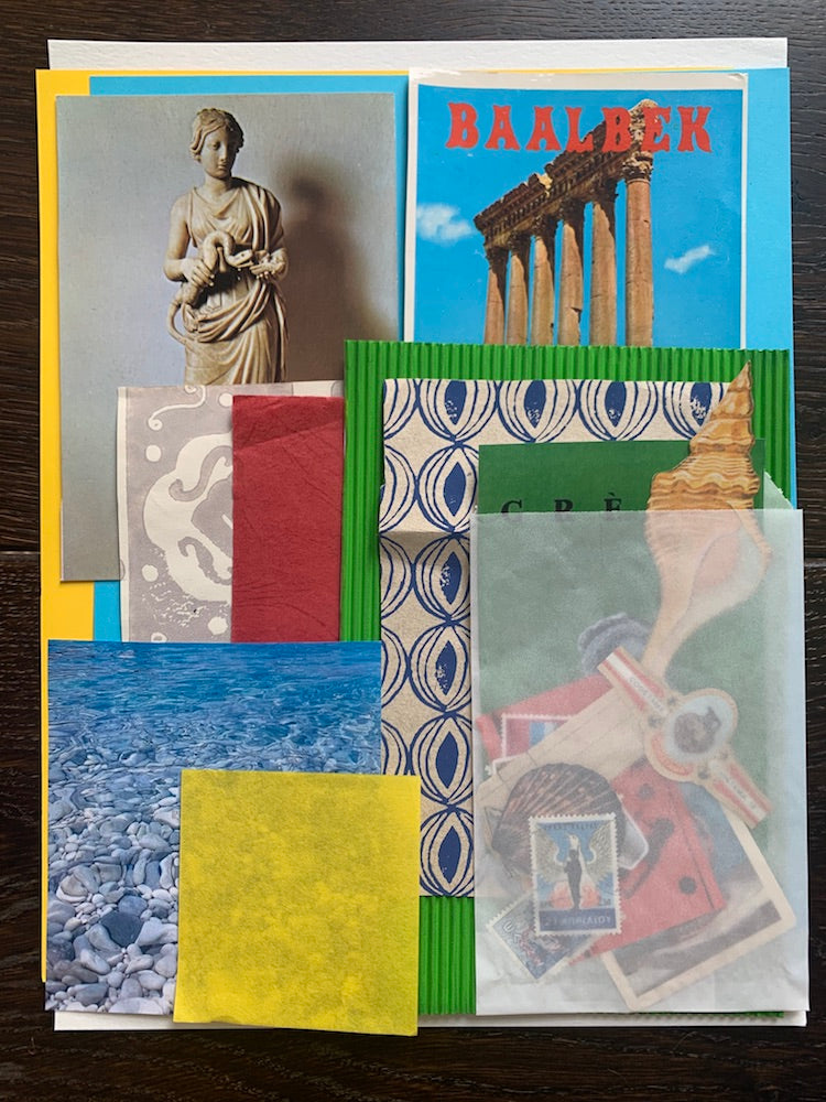 Collage Parcel 1 - A Grecian Odyssey | Collage Pack | Original Artwork | Partnership Editions