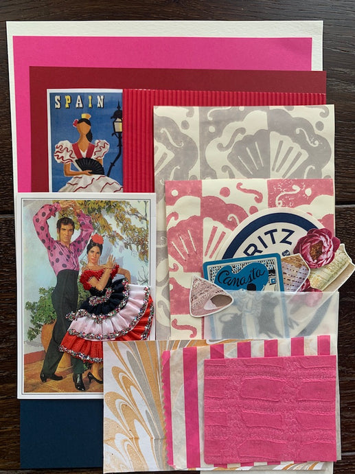 Collage Parcel 1 - After The Siesta | Ruby Kean | Partnership Editions