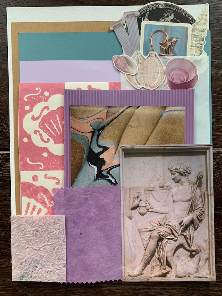 Collage Parcel 10 - A Grecian Odyssey | Ruby Kean | Partnership Editions