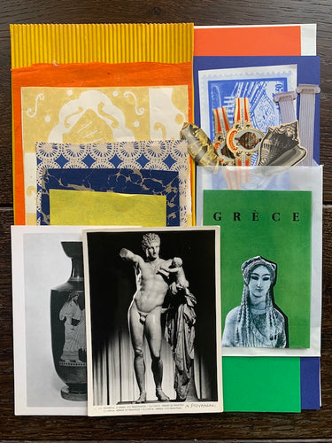 Collage Parcel 11 - A Grecian Odyssey | Ruby Kean | Partnership Editions