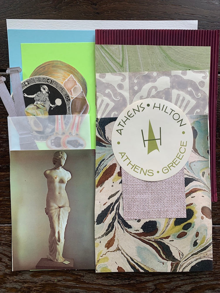 Collage Parcel 12 - A Grecian Odyssey | Ruby Kean | Partnership Editions