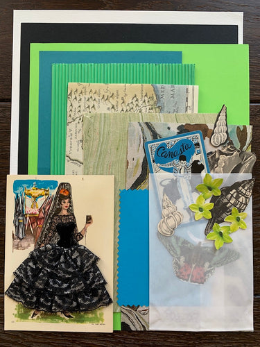 Collage Parcel 12 - After The Siesta | Ruby Kean | Partnership Editions