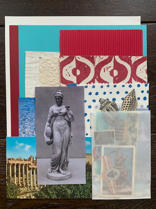 Collage Parcel 2 - A Grecian Odyssey | Ruby Kean | Collage Pack | Partnership Editions