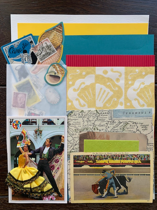 Collage Parcel 3 - After The Siesta | Ruby Kean | Partnership Editions