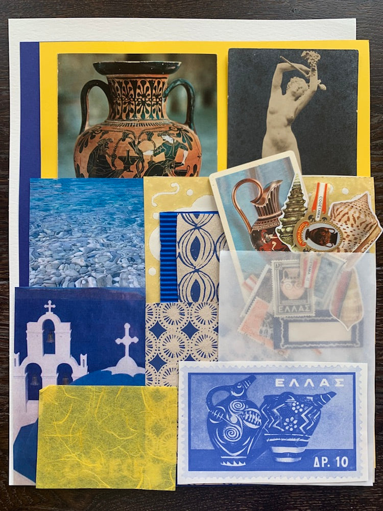 Collage Parcel 4 - A Grecian Odyssey | Ruby Kean | Partnership Editions