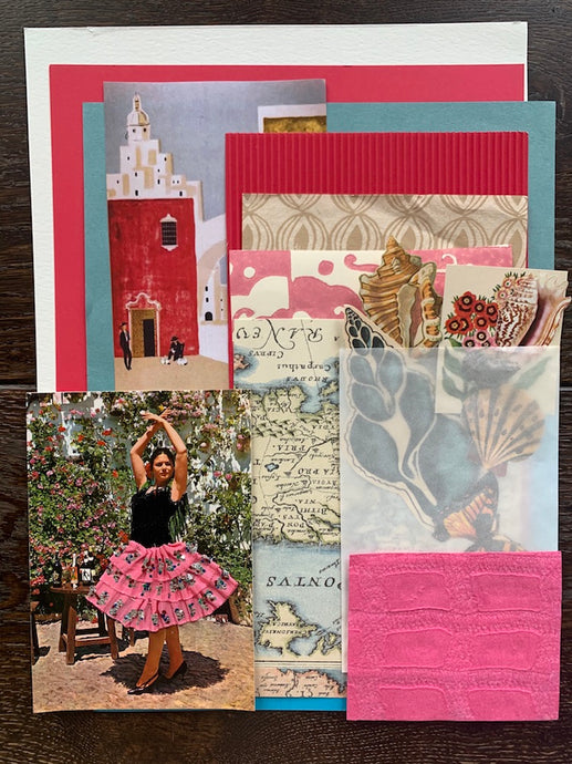 Collage Parcel 4 - After The Siesta | Ruby Kean | Partnership Editions