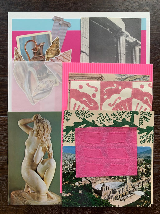 Collage Parcel 5 - A Grecian Odyssey | Ruby Kean | Partnership Editions