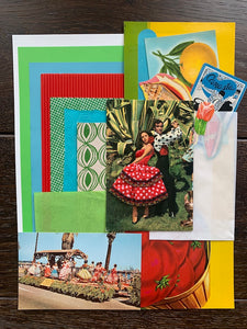 Collage Parcel 5 - After The Siesta | Ruby Kean | Partnership Editions