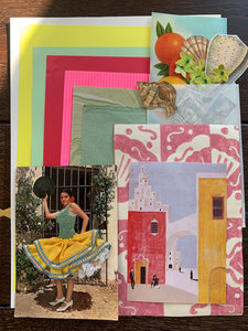Collage Parcel 7 - After The Siesta | Ruby Kean | Partnership Editions
