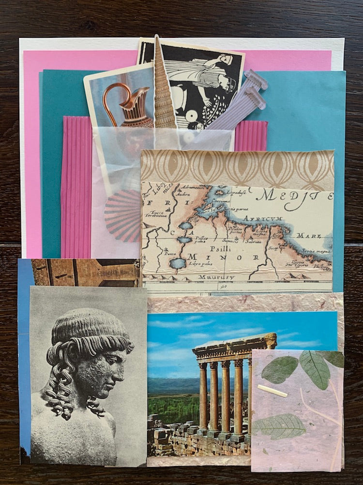 Collage Parcel 8 - A Grecian Odyssey | Collage Parcel Pack | Ruby Kean