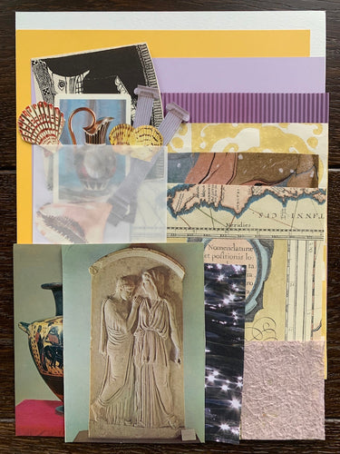 Collage Parcel 9 - A Grecian Odyssey | Ruby Kean | Parcel Pack