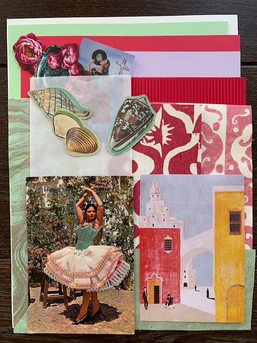 Collage Parcel 9 - After The Siesta | Ruby Kean | Partnership Editions