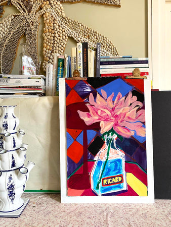 Mixed Media Painting | Rose Electra Harris