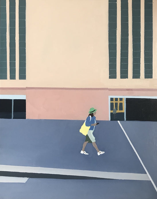 Pavement #8 | Christabel Blackburn | Original Artwork | Partnership Editions