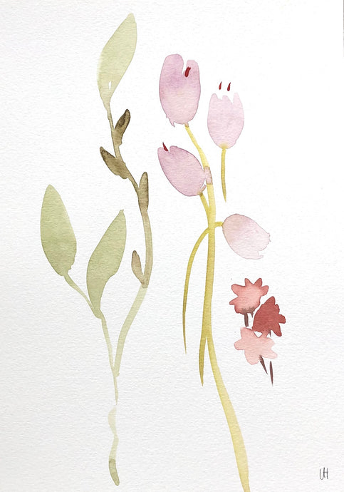 Quiet Painting III | Lisa Hardy | Watercolour on Paper | Partnership Editions