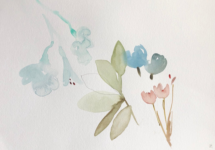 Quiet Painting IX | Lisa Hardy | Botanical Art | Partnership Editions