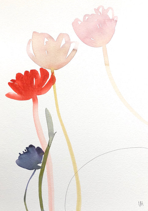Quiet Painting V | Lisa Hardy | Watercolour | Partnership Editions