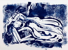 Load image into Gallery viewer, Reclined Monoprint 3 | Alexandria Coe | Original Artwork | Partnership Editions