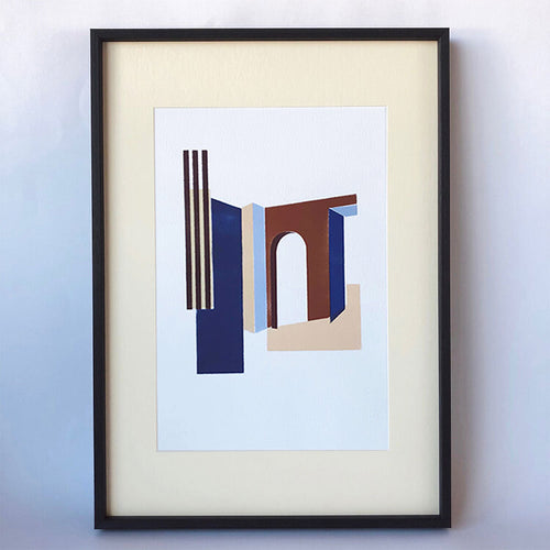 Framed Roomscape Print