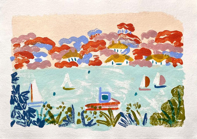 Salcombe View I | Camilla Perkins | Original Artwork | Partnership Editions