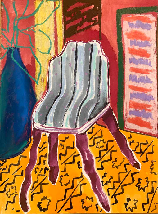 Sea Chair | Rose Electra Harris | Original Artwork | Partnership Editions
