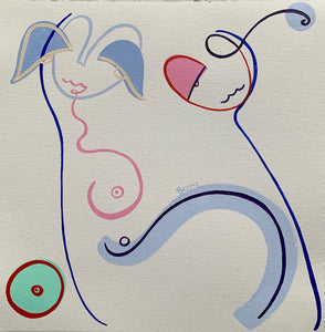 Shapely Shapes 5  | Venetia Berry | Original Artwork | Partnership Editions
