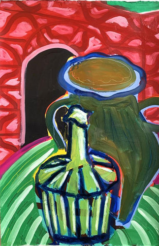 Still life with Carafe X | Rose Electra Harris | Original Artwork | Partnership Editions