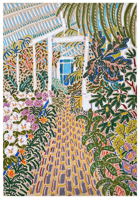 The Orchid House | Camilla Perkins | Original Artwork | Partnership Editions