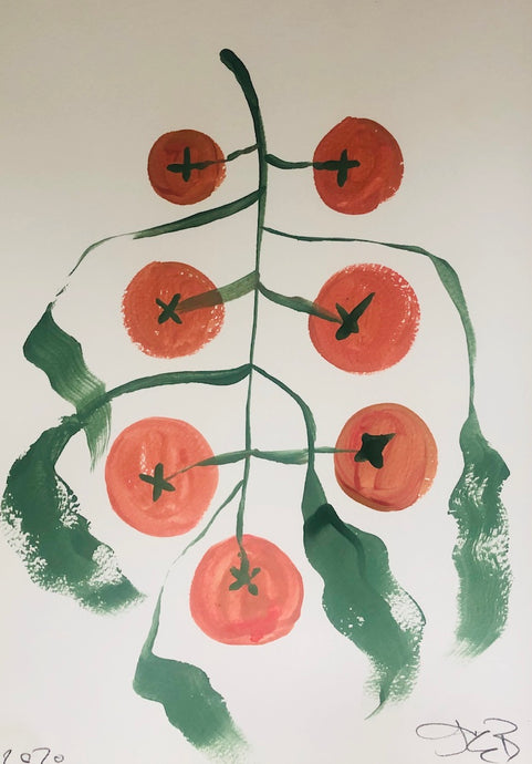 Tomato Plant | Julianna Byrne | Original Artwork | Partnership Editions