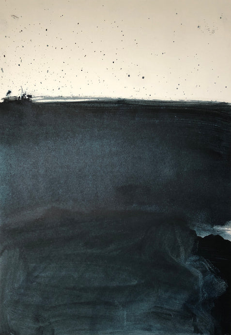 Tomorrow | David Hardy | Oil on Paper | Partnership Editions