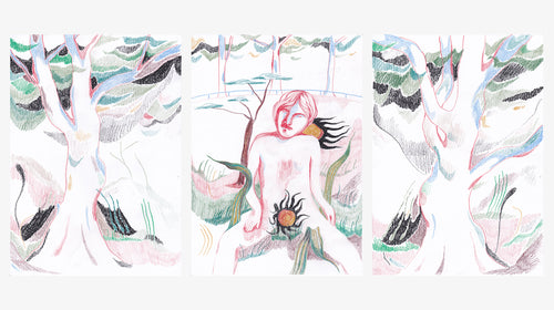 Triptych I | James Owens | Coloured Pencil | Partnership Editions