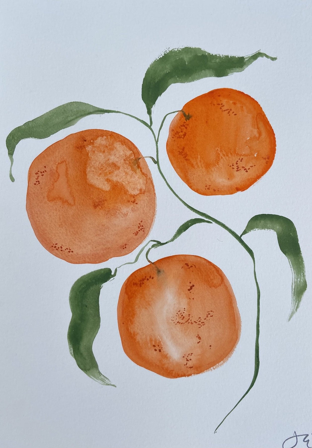 Winter Clementines I | Julianna Byrne | Original Artwork| Partnership Editions
