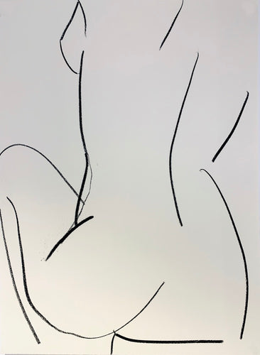Extra Large Studio Nude 4 | Alexandria Coe | Original Artwork | Partnership Editions