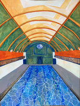 Load image into Gallery viewer, Afternoon Swim | Cecilia Reeve | Original Artwork | Partnership Editions