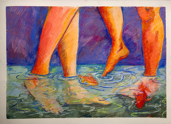 Bodies of Water | Cecilia Reeve | Original Artwork | Partnership Editions