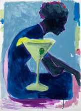 Load image into Gallery viewer, Dirty Martini | Jonathan Schofield | Original Artwork | Mixed Media | Partnership Editions