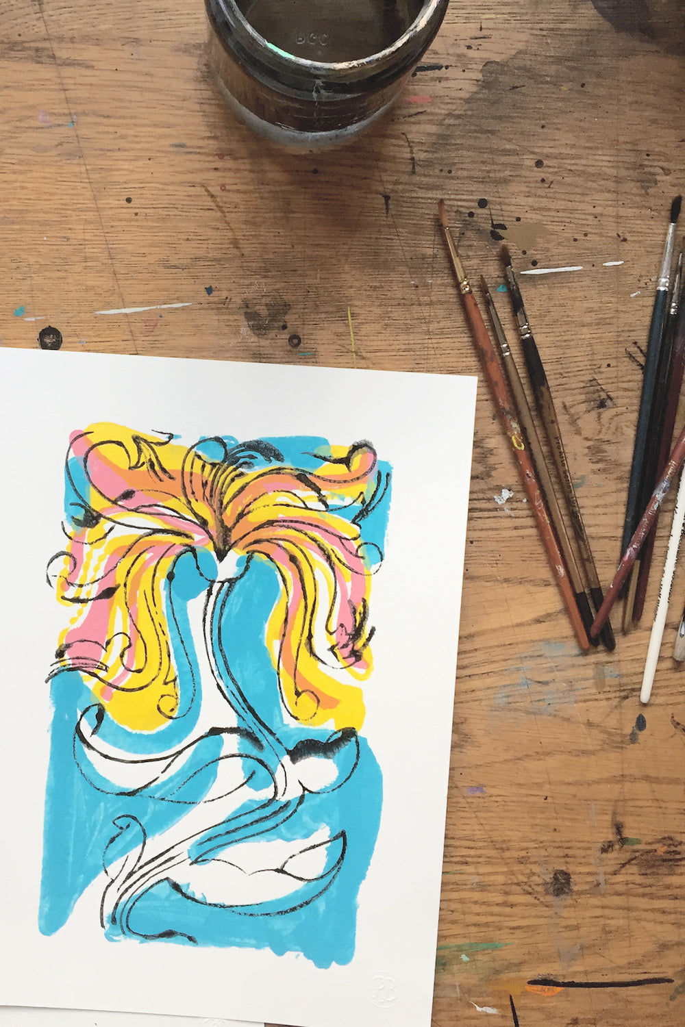 Colourful Art | Work in Progress