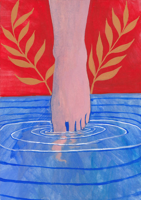 Testing The Water II | Cecilia Reeve | Original Artwork | Partnership Editions