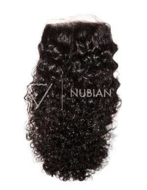 Nubian Curly Closure