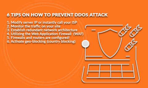 How to prevent DDoS