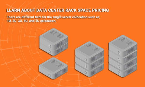 Data center rack space pricing
