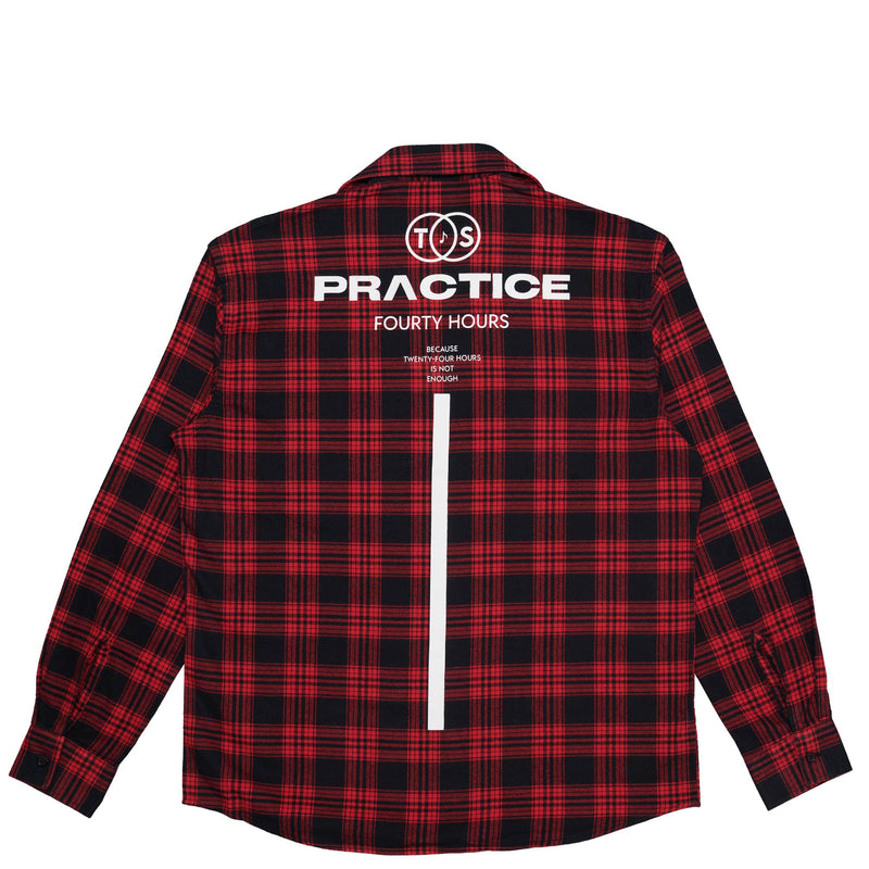 TwoSet Apparel Practice Flannel Shirt