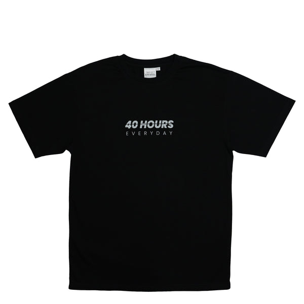 Reflective 40HRS EVERYDAY Shirt Musician Wear