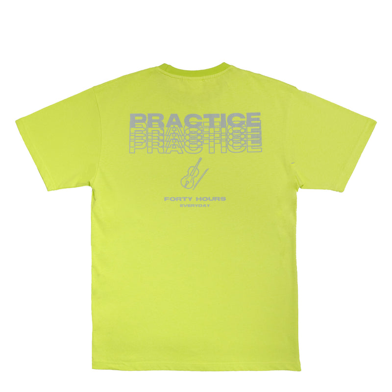 Reflective Practice Shirt Neon Green Musician Wear
