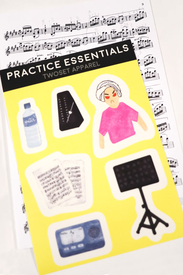Practice Essentials Stickers