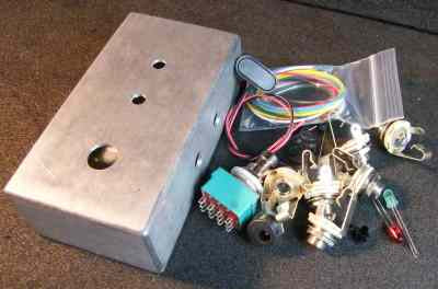 EFFECTS ORDER SWITCH BOX COMPLETE KIT